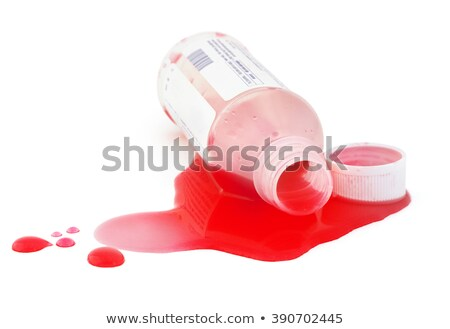 A spilled medicine syrup Stock photo © bluering