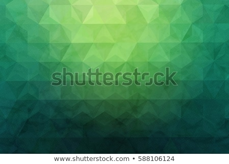 緑 · 抽象的な · ピラミッド · デザイン · 群衆 · ボックス - ストックフォト © MONARX3D