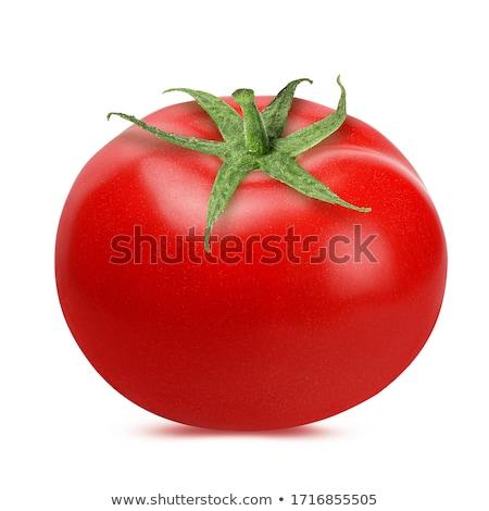красный помидоров белый зрелый Top кадр Сток-фото © ambientideas