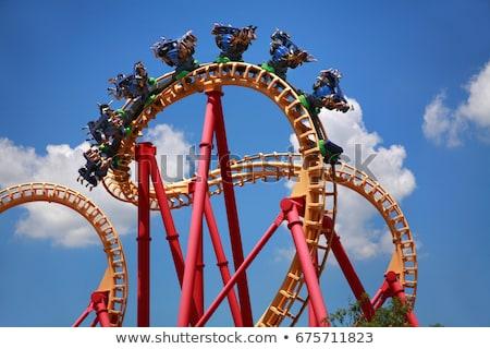 roller coaster stock photo © zurijeta