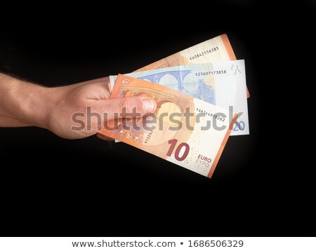 money euro isolated stock photo © ruslanomega