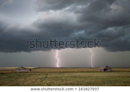 Storm Clouds Saskatchewan lightning Stock photo © pictureguy