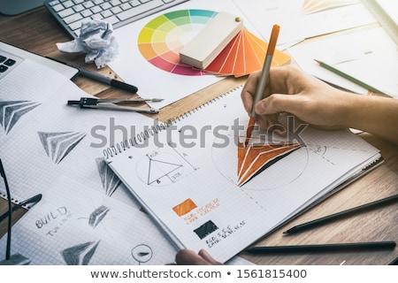 Design de logotipo 10 projeto tecnologia profissional moderno Foto stock © sdCrea