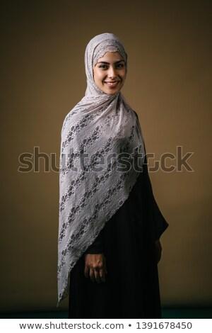beautiful · girl · princesa · tecido · isolado · branco · mulher - foto stock © artfotodima