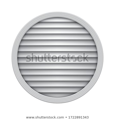 Round vent cover Stock photo © magraphics