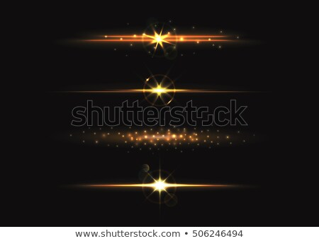 2017 with golden lights effect Stock photo © SArts