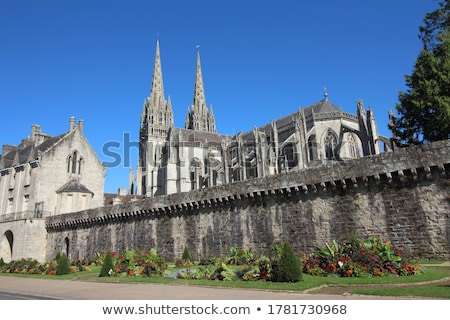 Old town of Quimper, Brittany, France Stock photo © Xantana