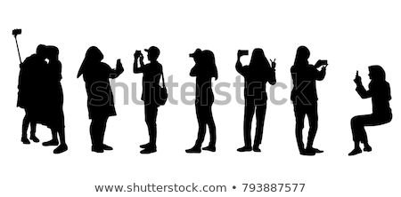 arab · paar · man · vrouw · samen · gelukkig - stockfoto © nikodzhi