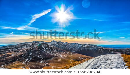 Volcanic Plateau in The Central Massif, France Stock photo © RazvanPhotography