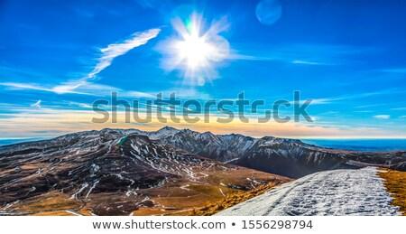 Volcánico meseta central paisaje pueden cúpula Foto stock © RazvanPhotography