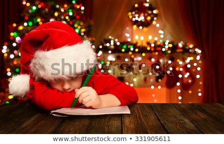 Childs Christmas Wish List Stock photo © mybaitshop