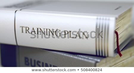 Training Plan - Book Title. 3D. Stock photo © tashatuvango