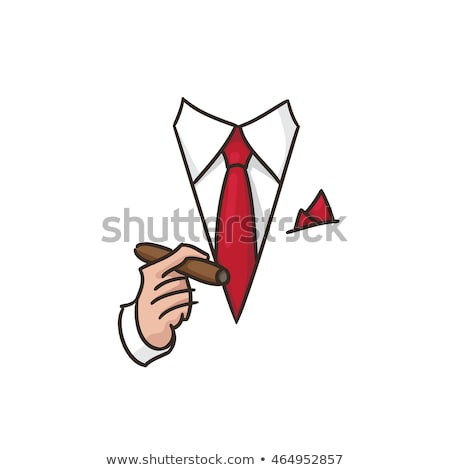 Lifestyle · erfolgreich · Geschäftsmann · Design · weißen · Mannes · Goldmünze - stock foto © rastudio