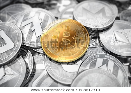 bitcoin · Shopping · commerce · magasin · panier · or - photo stock © artjazz