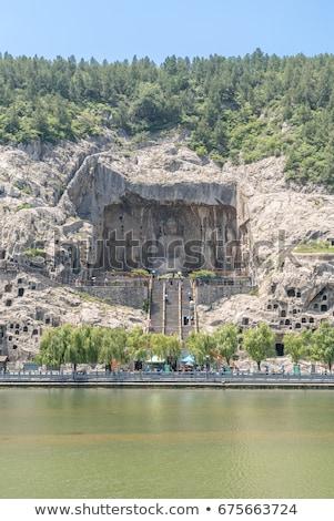 Longmen Grottoes Luayang China Stock photo © vichie81