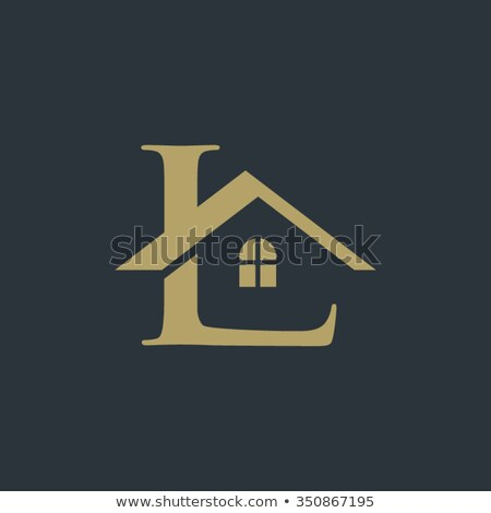 house logo with letter l sign logo template stock photo © taufik_al_amin