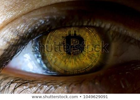 Obsessed With Bitcoin Stock photo © Krisdog