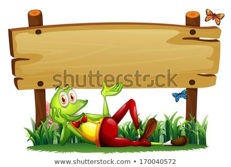 Foto stock: Campo · ilustración · papel · diseno · fondo