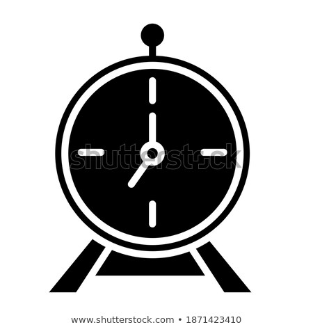 Worktime and Office Management Rounded Line Glyph Stock photo © robuart