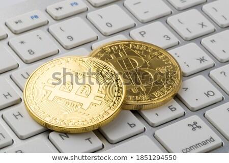 交換 貿易 コピー コイン ロゴ 市場 ストックフォト © tashatuvango