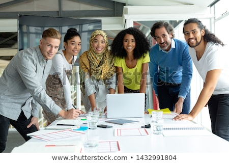 Cultural diversity Stock photo © colematt