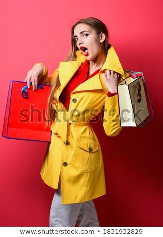 Navidad final venta vacaciones descuento regalo Foto stock © robuart