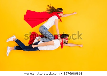 A view of super hero fly  Stock photo © bluering