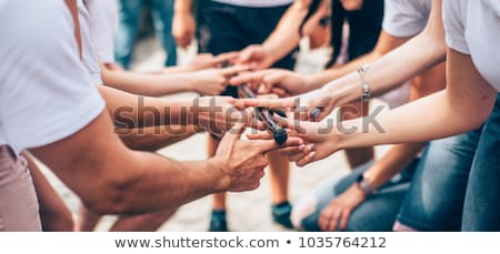 Teambuilding Stock photo © pressmaster