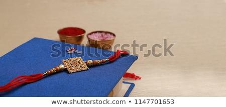 mooie · indian · festival · vector · hand · liefde - stockfoto © sarts