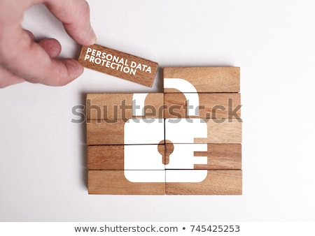 Personal Data Protection Stock photo © -TAlex-