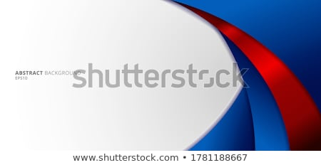 abstract blue brochure template Stock photo © pathakdesigner