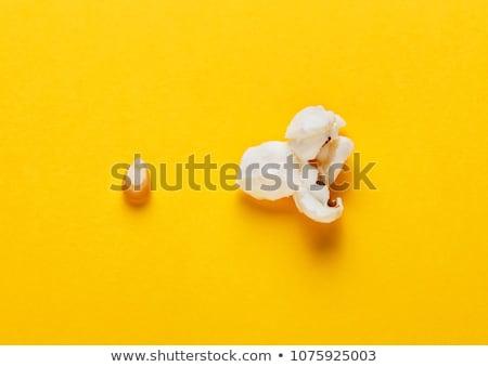 évolution popcorn différent noir réflexion mise au point sélective Photo stock © ildi