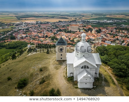 picture of landscape in south czech republic Stock photo © Sarkao