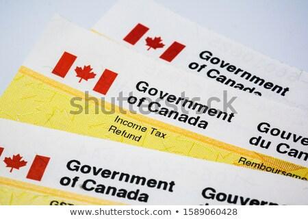 Kanada gelir ajans Bina Ottawa ofis Stok fotoğraf © michelloiselle