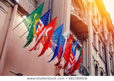 embassy Stock photo © dolgachov