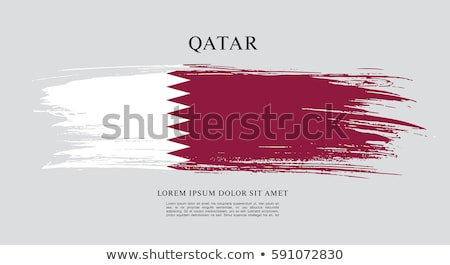 Grunge Catar bandeira país oficial cores Foto stock © speedfighter