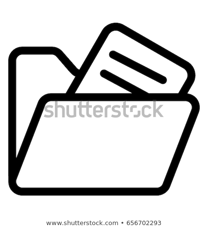 Vector icon files stock photo © zzve