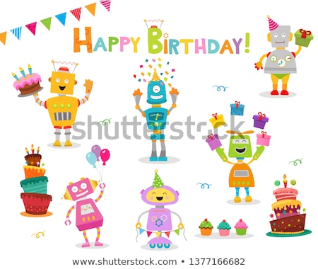 Робот с днем рождения