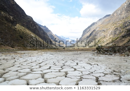 dry valley near mountains stock photo © anna_om