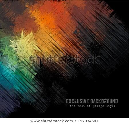 Wyrafinowany streszczenie grunge okładka projekty Zdjęcia stock © DavidArts
