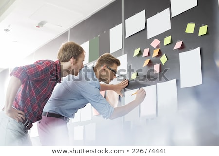 2 · 同僚 · オフィス · グレー · 光 - ストックフォト © photography33