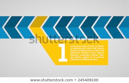 Döntés választás nyíl vektor absztrakt háttér Stock fotó © burakowski