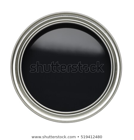 Paint can on black Stock photo © ajfilgud