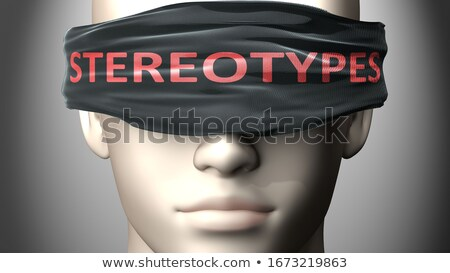 STEREOTYPE Stock photo © chrisdorney