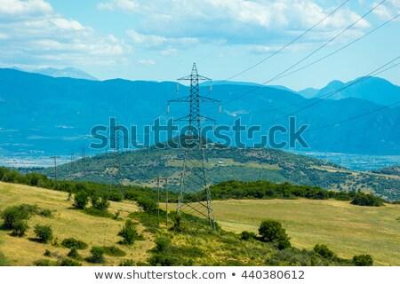 Grécia grego aldeia floresta poder Foto stock © Mps197