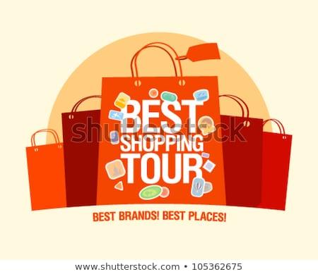 Clarance Sale Shopping Bag Stock photo © stevanovicigor