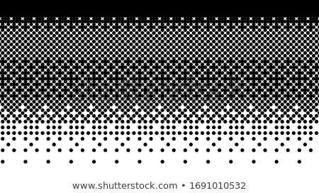 Пиксели черная дыра форма белый поверхность Сток-фото © Melvin07