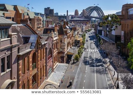 Roches Sydney vue port pont historique Photo stock © dirkr