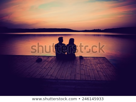 pár · legelő · kezek · szeretet · férfi · nők - stock fotó © Paha_L