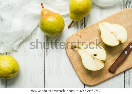 egészséges · boldog · egészséges · étkezés · néz · kamera · család - stock fotó © digifoodstock